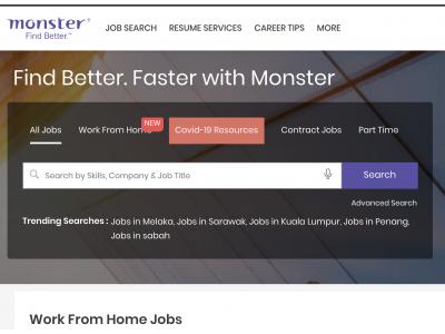 Monster-新加坡站点